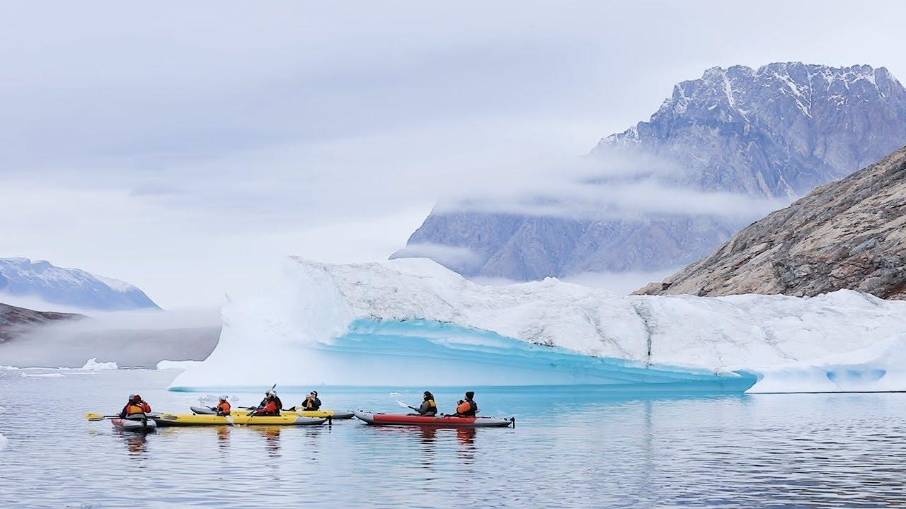 【動画】北極でカヤックを楽しむ(東グリーンランド)