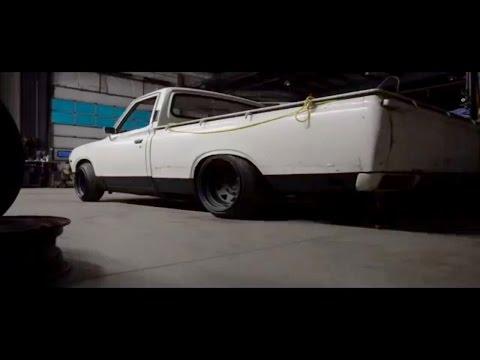 1974 datsun 620 build (the body job) #6