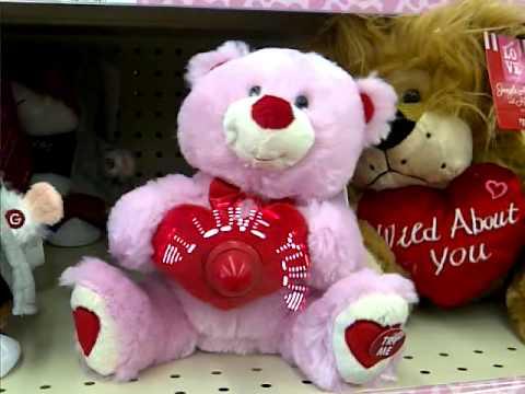 Cute singing valentine teddy singing Ronettes