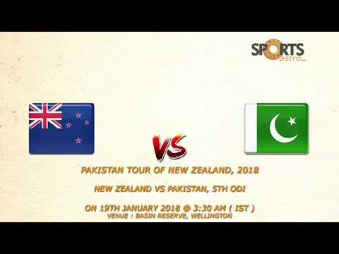 Pakistan tour of New Zealand, 2018 New Zealand vs Pakistan, 5th ODI Predition