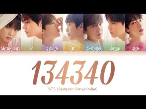BTS (방탄소년단) - 134340 (PLUTO) (Color Coded Lyrics/Han/Rom/Eng)