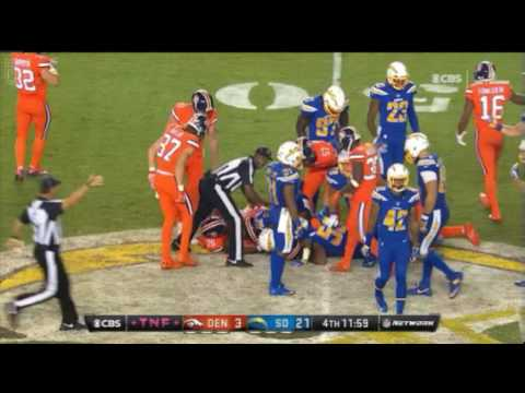 SAN DIEGO CHARGERS vs. DENVER BRONCOS (Highlights) WEEK 6