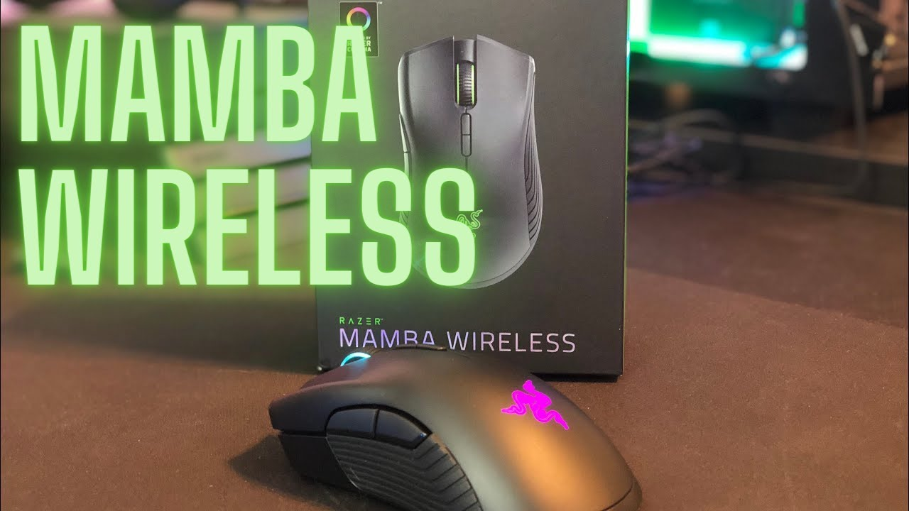 ce1aa35156b Razer Mamba Wireless (2018 Model) Review and Comparison - YouTube