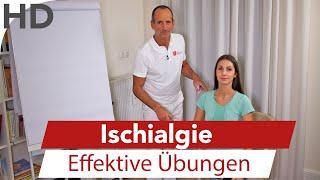 Ischialgie // Effektive Übungen bei Ischiasschmerzen