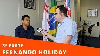 Exclusivo! Fernando Holiday conta pela 1ª vez como saiu do armário e assumiu a homossexualidade.