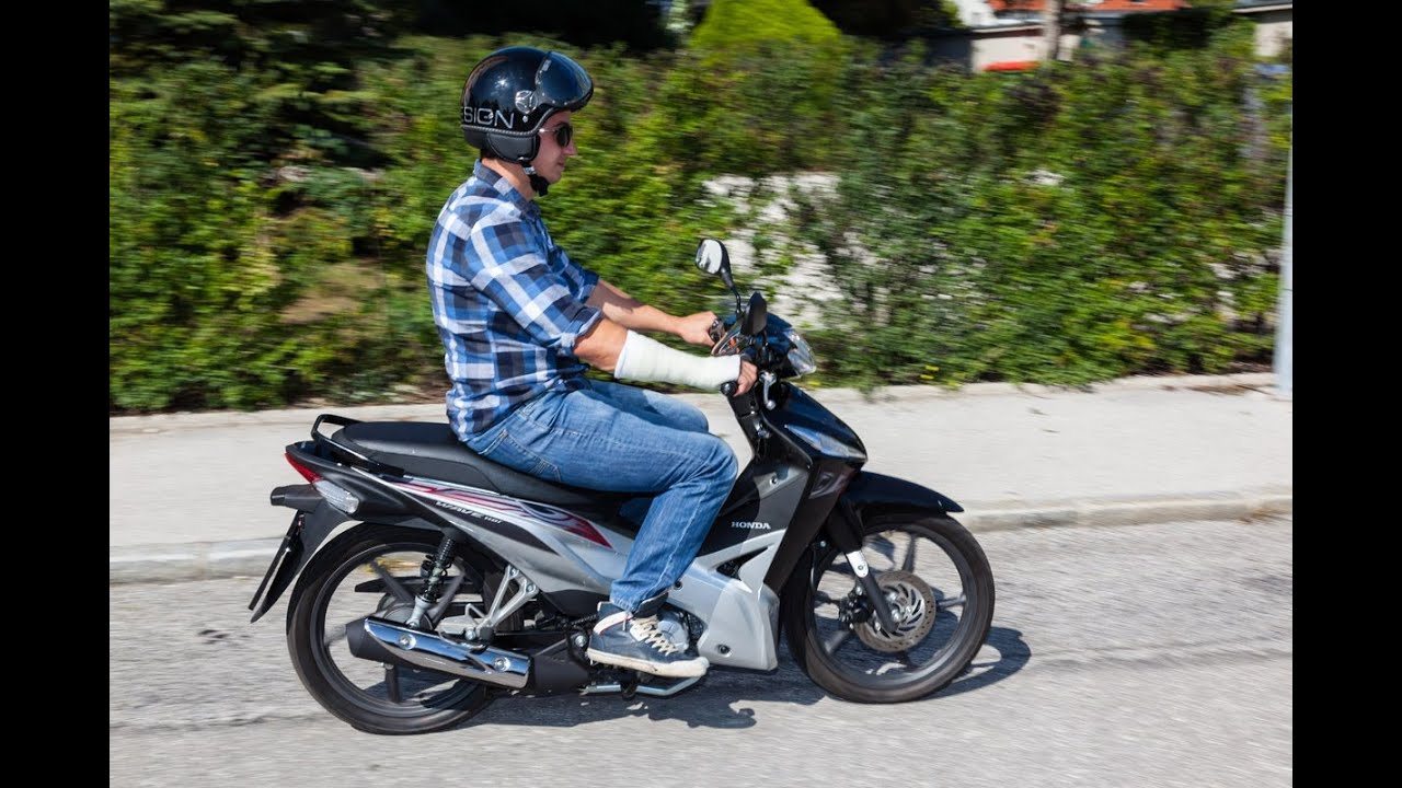 Review | Prueba | Honda Wave 110i + Español - YouTube