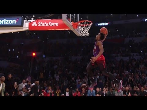 2018 NBA Slam Dunk Contest Highlights | NBA All-Star Weekend