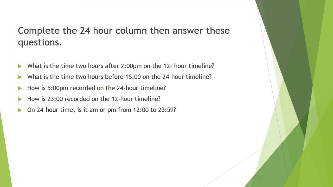 and hour time conversion chart also youtube rh