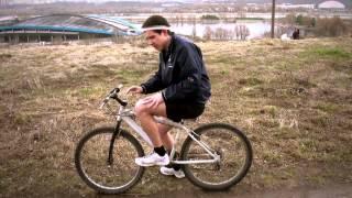 Обучение катанию на велосипеде