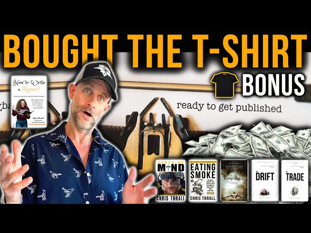 Publish YOUR Book The Easy Way! | Bestselling Author Chris Thrall And Denny Denholm Royal Marines