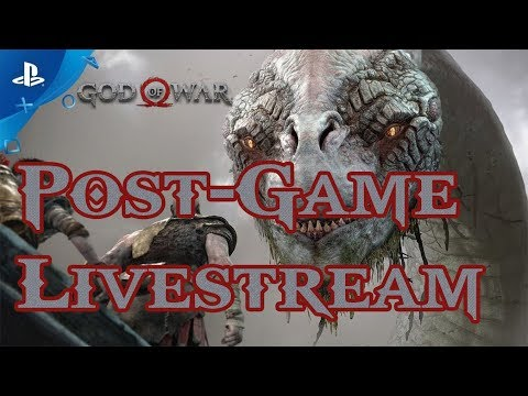 God of War - Let's Play Part 49: Post-Game Exploration + Valkyrie Queen Livestream