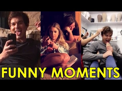 Ashley Benson & Tyler Blackburn | Funny Moments at Pretty Little Liars Season 7B Set