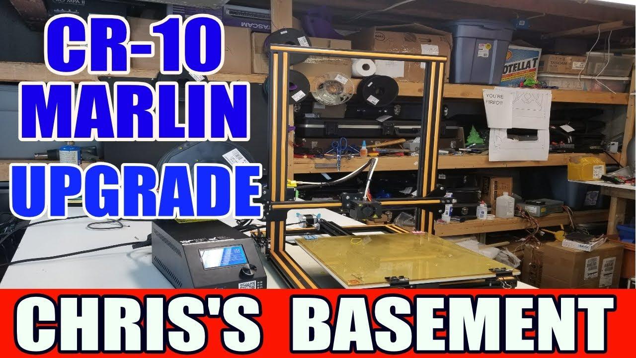 Creality CR-10 Marlin Firmware Upgrade - Chris's Basement