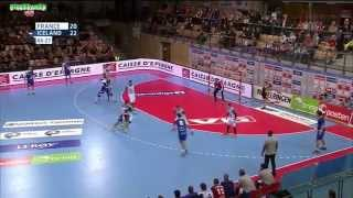 France vs Islande Handball Golden League 2015 2016 1ère  manche