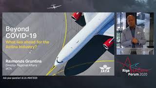 Raimonds Gruntins I Riga Aviation Forum 2020 |10.09.2020