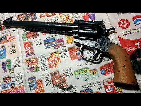from toy gun to gunslinger prop/display piece
