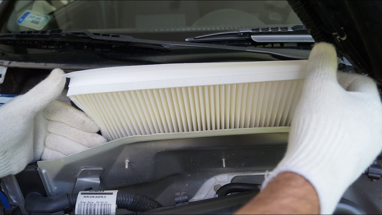 Opel Corsa Cabin Filter Replacement Youtube