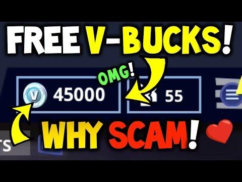 Free V Bucks Legit