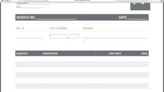 free freight/trucking invoice template | excel | pdf | word (.doc), Invoice templates