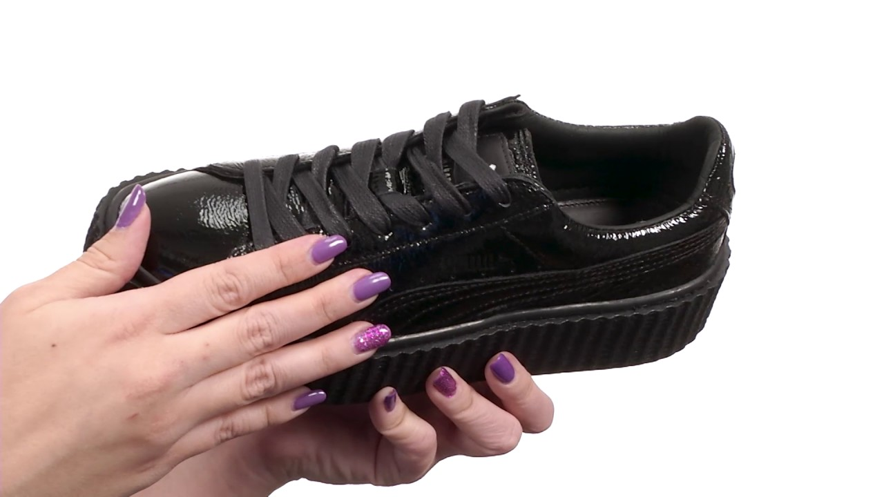 puma creepers violet