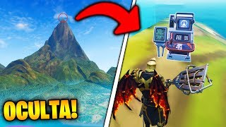 As GO TO FORTNITE!❓ GIANT MOUNTAIN with this NEW FORTNITE BUG!! 😱