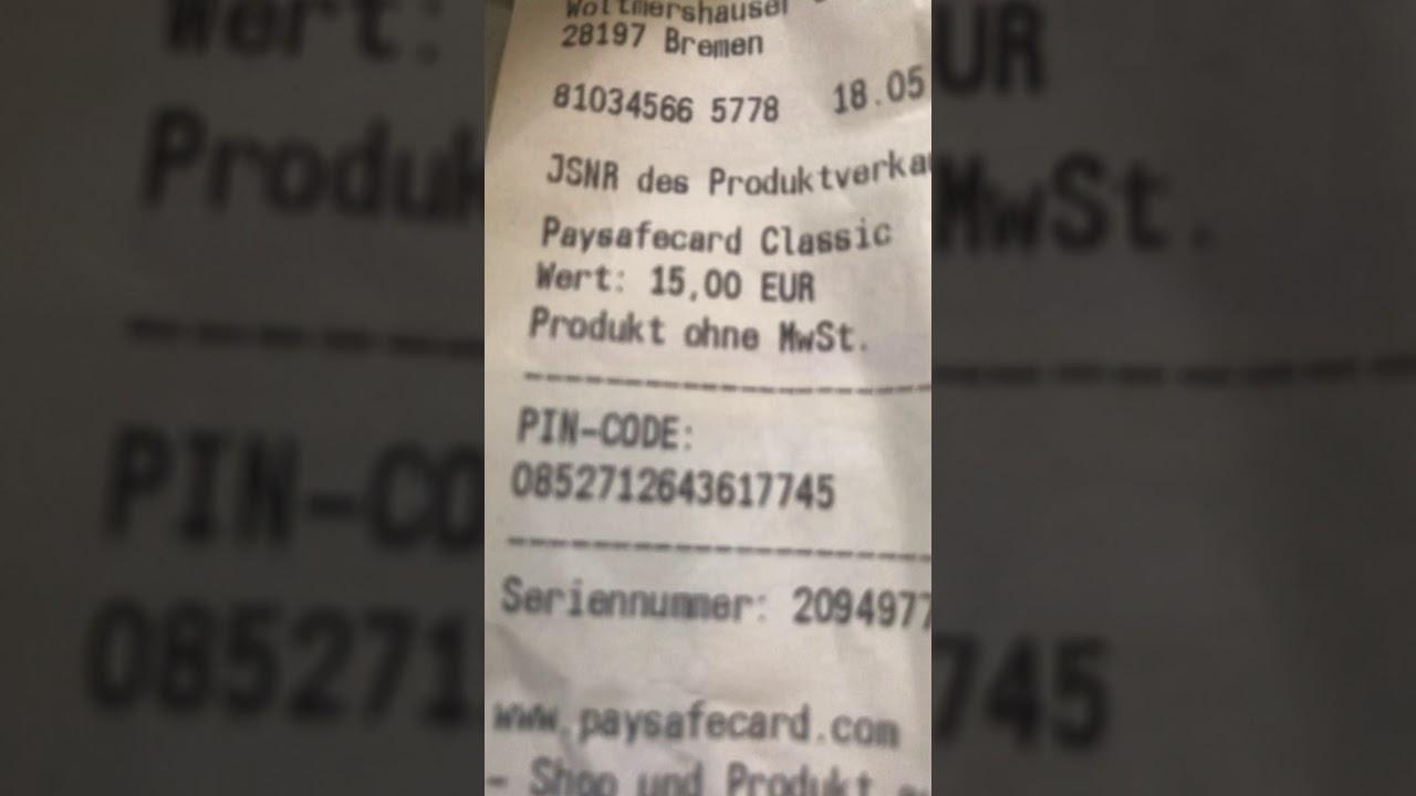Fake codes paysafe Free PaySafeCard