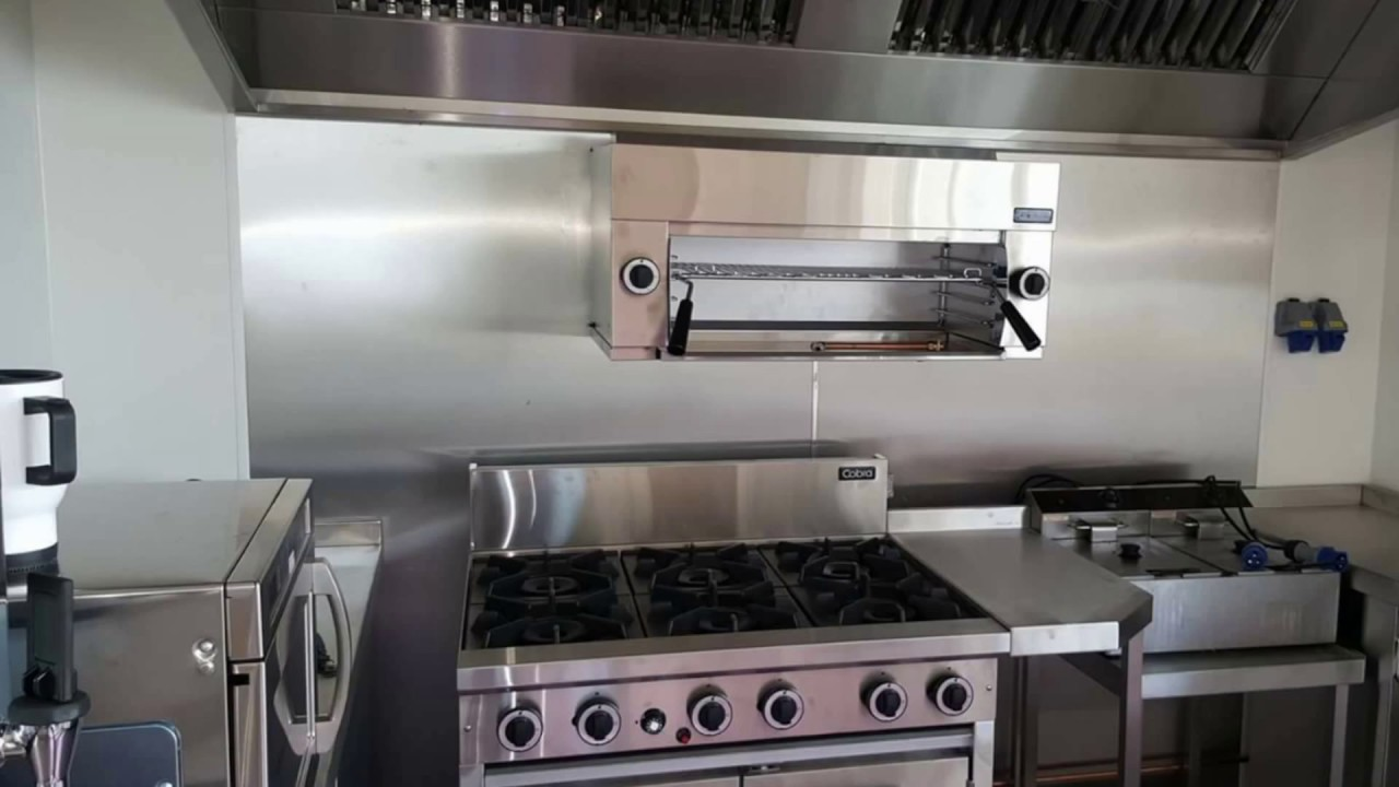 Commercial Kitchen Design Sports Club Youtube