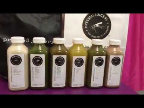 Pressed Juicery 1 Day Cleanse For Beginningers Youtube