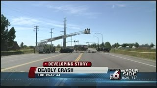 Deadly crash on Highway 44