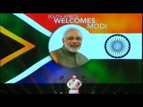 PM Narendra Modi Full Speech in South Africa