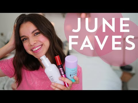 JUNE FAVORITES! Skincare, Makeup, TV Show, Scent + More! | I
