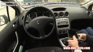 Lire des MP3 sur clé USB ou carte SD avec l'autoradio d'origine - Peugeot 308 avec autoradio RD4