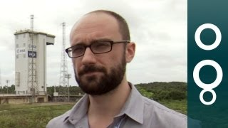 Vsauce at the Vega space rocket launch!