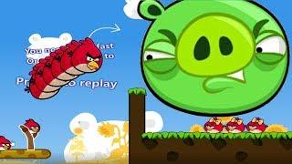 Angry Birds Cannon 3 - KICK PIGGIES TO MEET GIRLFRIEND BIRD!