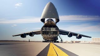 The Amazing Way Cargo is Loaded onto a C-5 Galaxy Plane