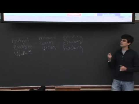 Lecture 7: Security, Continued - CSCI E-1 2011 - Harvard Extension School