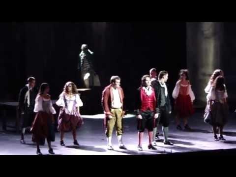 LIVE/1789, les amants de la Bastille - A quoi tu danses (extrait haka) - Sébastien Agius