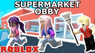 Roblox: Escape the Supermarket Obby / ATTACK OF THE GROCERIES! 🥕🍅🥦