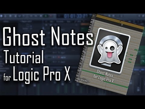 👻 How To Create Ghost Notes For Logic Pro X | Chord & Melody Tutorial For Logic Pro X
