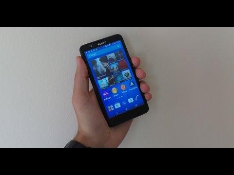 Sony Xperia E4 teszt