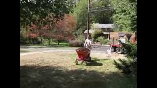 Homemade 10 Cu.ft. Self Propelled Wheelbarrow.