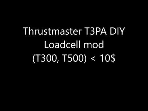Thrustmaster T3PA DIY Loadcell mod (T300, T500) < 10$ by