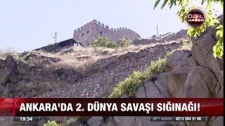 Ankara'da 2. Dünya savaşı sığınağı! - 10 temmuz 2017