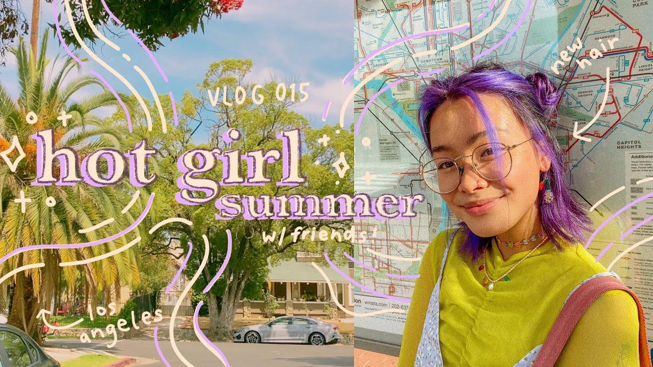 hot girl summer, los angeles, + hair transformation // vlog 015