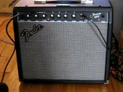 fender frontman 25r with eminence rajin cajun speaker youtube