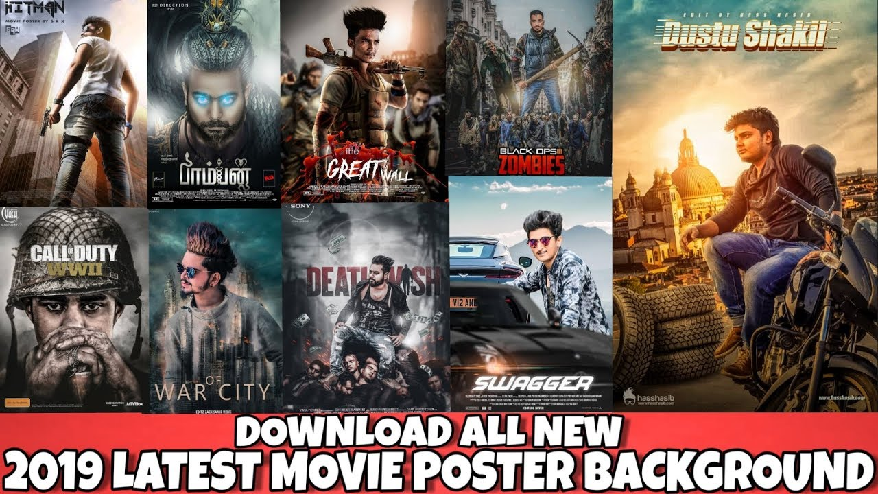 Movie Poster New Backgrounds Zip File 2019 Download Movie Poster Png Background For Picsart Youtube