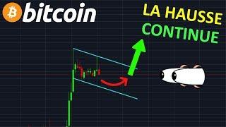 BITCOIN LA HAUSSE CONTINUE !? btc analyse technique crypto monnaie