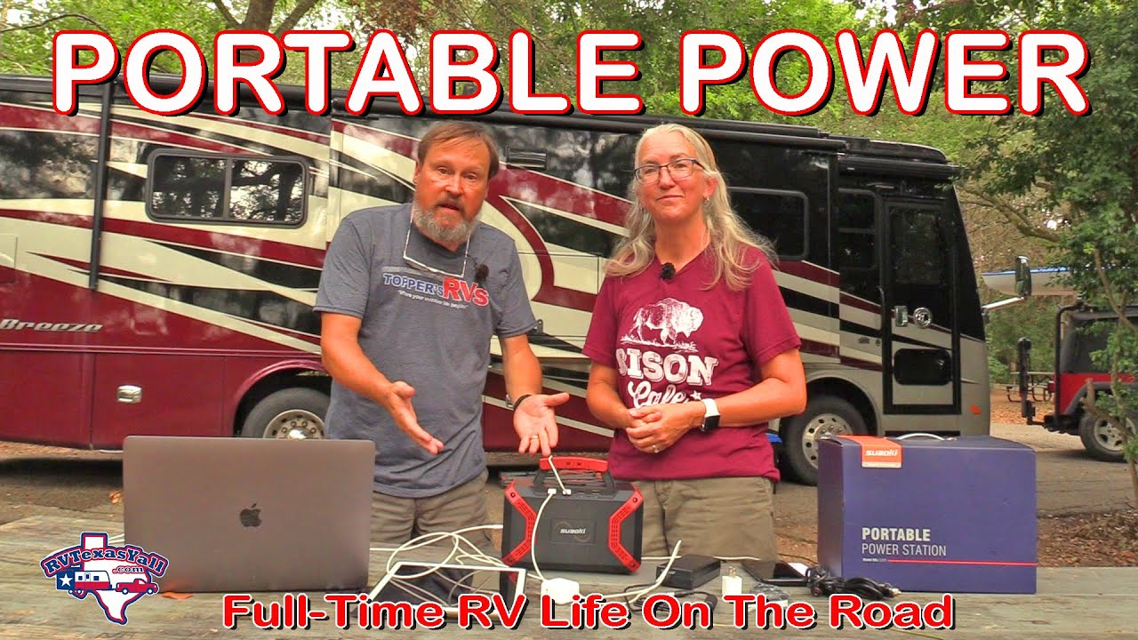 Power On The Go! | Suaoki 300W Portable Power Station Review