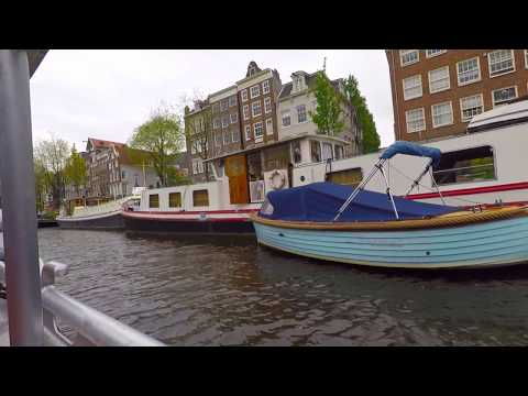 Boat Trip in Amsterdam Canals