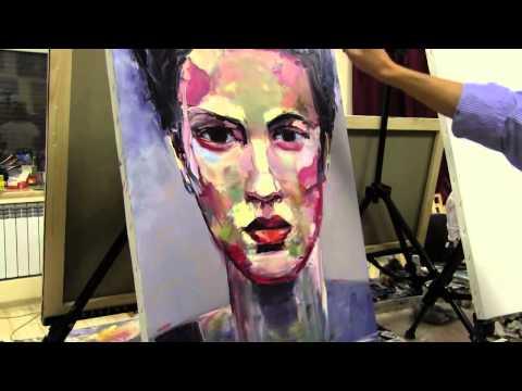 Портрет маслом для начинающего художника, научиться рисовать портрет, художник Сахаров
